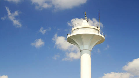 Radar Tower stock footage