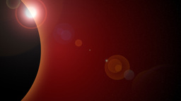 Animated Sunrise (Vertical View) stock footage
