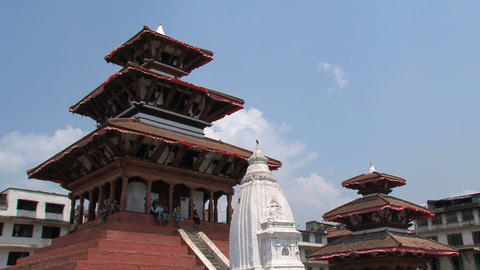Temples near Durbar Square Footage