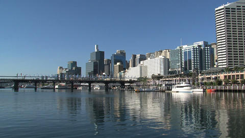 Sydney Harbor Front stock footage