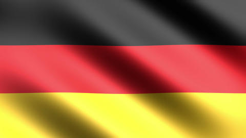 4k Flag Germany stock footage