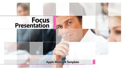 Focus Presentation - Apple Motion Template stock footage