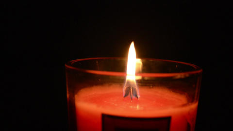 Candle 001 stock footage