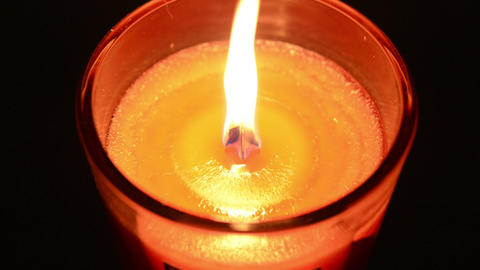 Candle 002 stock footage