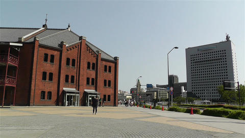 Yokohama Red Brick Warehouse Japan 1 Footage