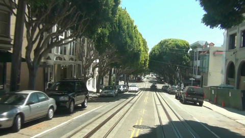 Cable Car - San Francisco -6 stock footage
