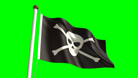 Skull flag Animation