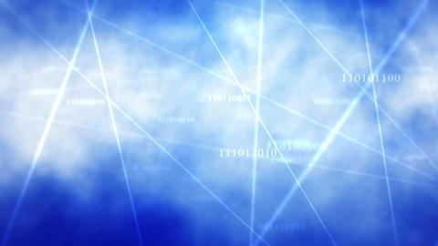 Cloud Comping Texty stock footage