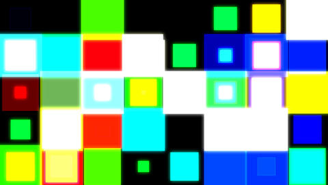 Discosquares3 HD stock footage