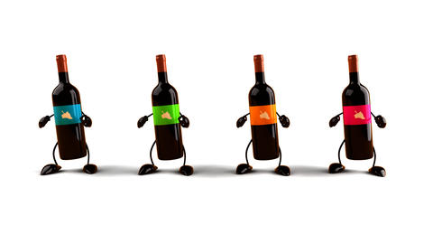Wines Dance stock footage