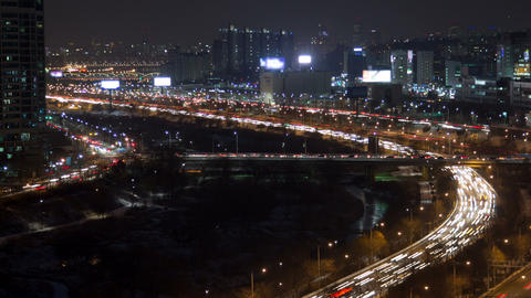 Seoul City 122 HD stock footage