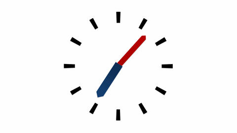 Clock - 12 Hours Animation