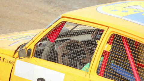 Race Car Driver 1 stock footage