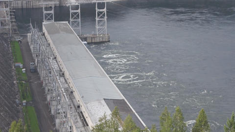 Krasnoyarsk hydroelectric power station dam 11 ビデオ
