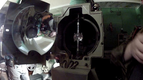 Old film projector Footage