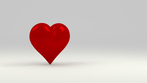 Red Heart stock footage