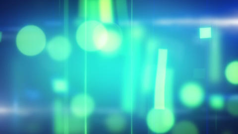 Cyan Blue Soft Loop Background stock footage