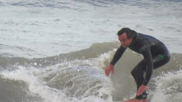 Surfing 1 stock footage