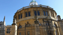 Sheldonian Theatre, Located In Oxford, England (Ox stock footage