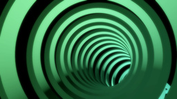 glowing rings tunnel Animation