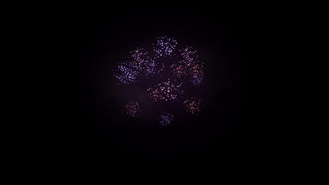 Fireworks 093 HD stock footage