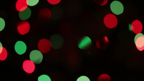 Defocused Colored Circular Lights Backgrounds - Do stock footage