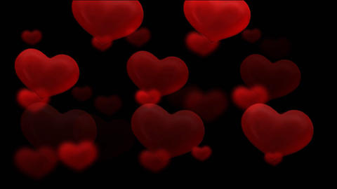 Hearts HD stock footage