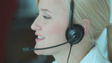 Online Support stock footage