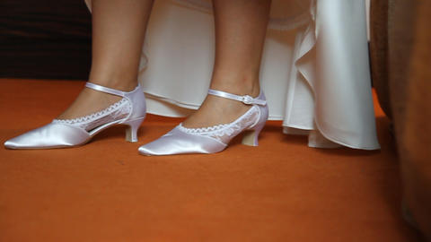 WEDDING SHOES 01 Footage