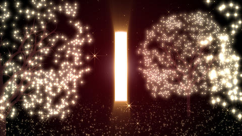 Door Of Illuminations And The Light stock footage