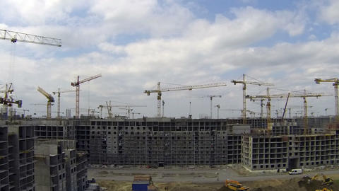 Big Construction stock footage