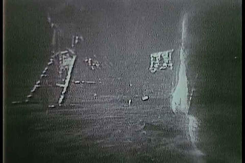 Neil Armstrong and the Apollo 11 crew liftoff from Footage