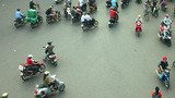 1080 - HANOI TIMELAPSE - HOAN KIEM DISTRICT stock footage
