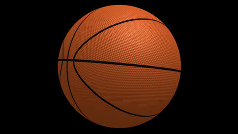 Basketball Spinning HD stock footage