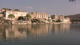 Udaipur palace in India Footage