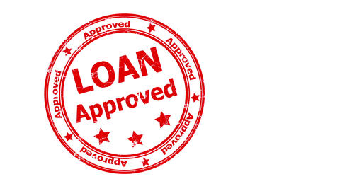 Loan Approved CG動画素材