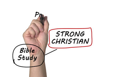 Strong Christian stock footage