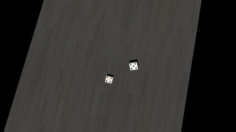 Lucky 7, Falling Dice Animation Animation