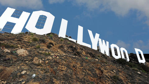 Hollywood Sign 1 Footage