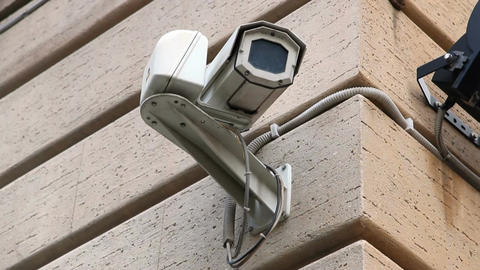 CCTV Security Video Camera Footage