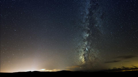 4k UHD Milky Way Galaxy Stars Time Lapse 11317 stock footage
