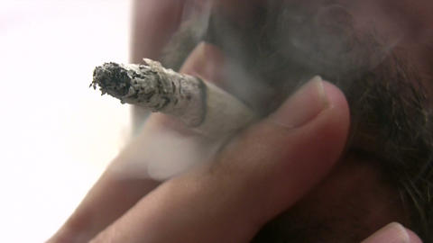Smoking Addiction stock footage