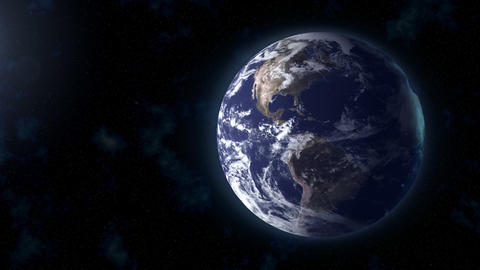 Realistic Earth BG Focus US stock footage