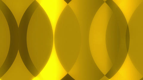 Karmony - Golden Circles Video Background Loop stock footage