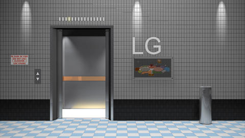 Elevator Lift Animation