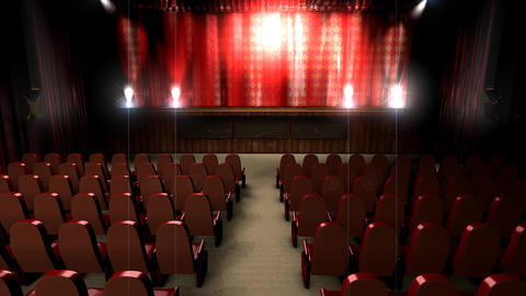 Theater hall Animation