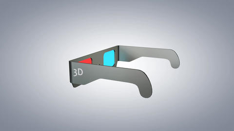 3D glasses Animation