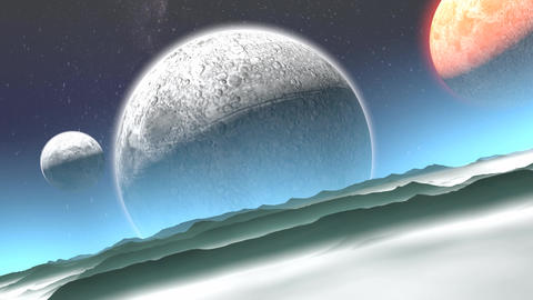 Alien Planet stock footage