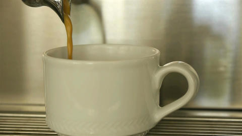 Espresso Coffee stock footage