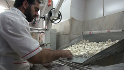 Nougat Production In Iran stock footage